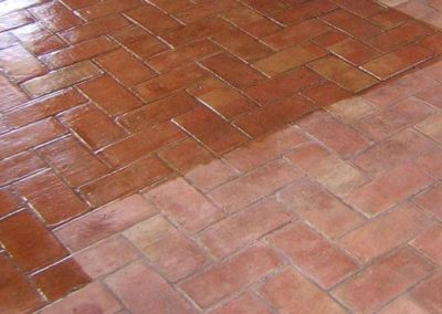 pavimento de barro barcelona